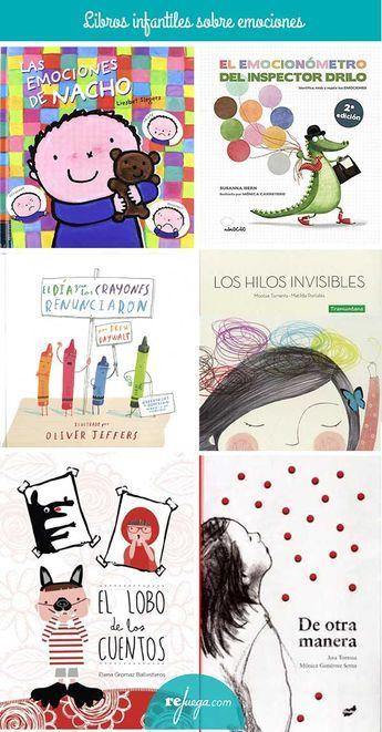 libros para niños para trabajar las emociones