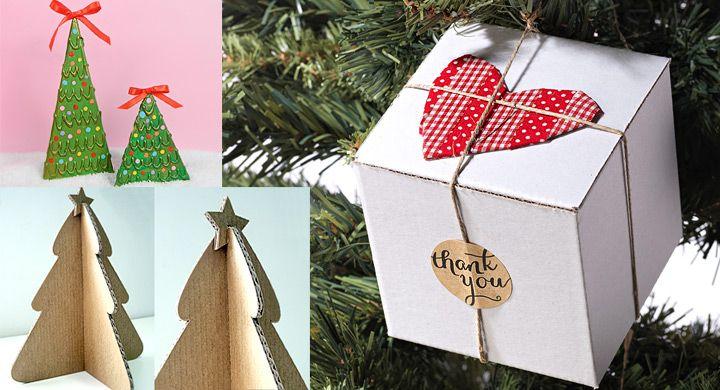 Resultado de imagen para adornos de navidad de carton