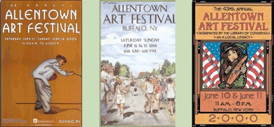 Allentown Art Festival Posters