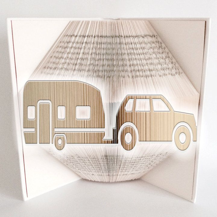 Book Folding Pattern Bookami Caravanning 800 Pages 400 Folds