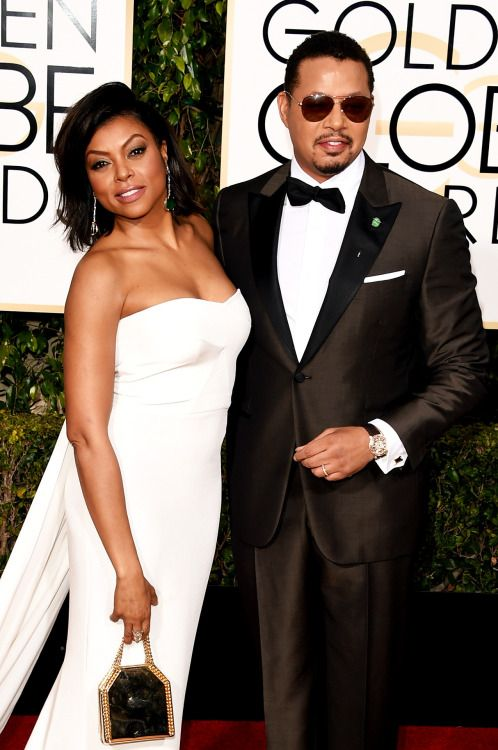 Taraji P. Henson and Terrence Howard attend the 73rd Annual Golden Globe Awards held at the Beverly Hilton Hotel on January 10, 2016 in Beverly Hills, California