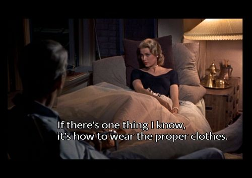 Grace Kelly, with caption.....