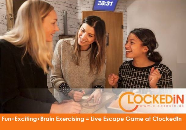Fun with friends, Exciting #games & a little bit of brain exercising. Whats more needed for a perfect #weekend? Step into ClockedIn Today!