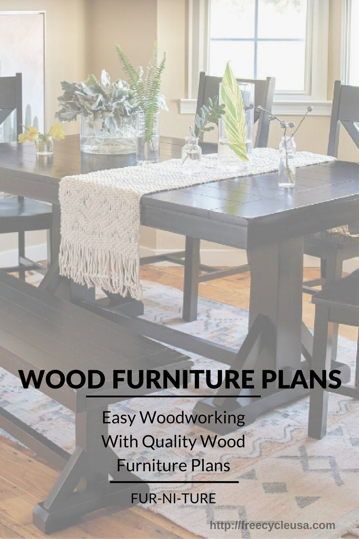 Amateur or Pro Furniture making can be a pleasure with the right set of wood furniture plans. Any amateur as well as professional is perfectly capable of turning out a great piece of furniture wit a detailed and comprehensive set of prints. There are a number of great wood furniture plans that are available online.  …