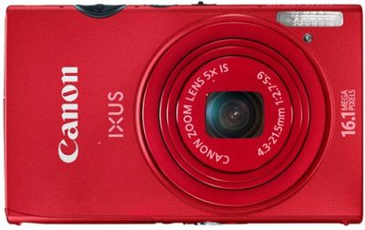 Get 37% OFF ON Canon IXUS 125 HS Camera + Free 4 GB Card + Carry Case