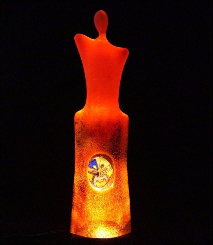 Kosta Boda Kjell Engman Disguise art glass sculpture figurine red limited 200 ex #KostaBoda