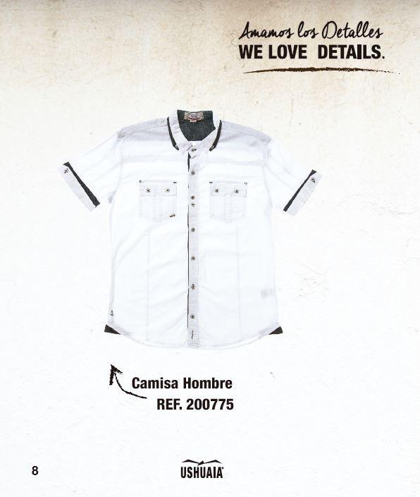 Camisa Hombre Ref : 200775 Tallas: S-M-L-XL