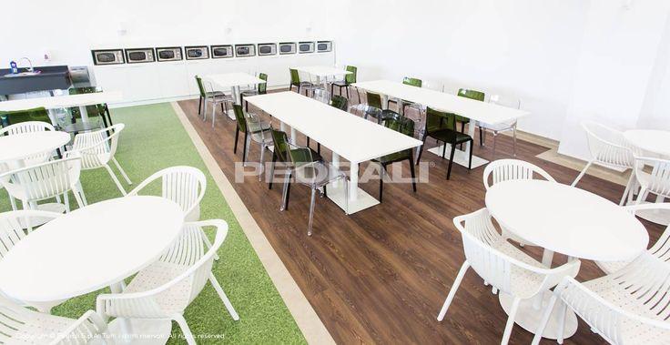 Mobiliario para comedores de empresa y industriales for Mobiliario empresas