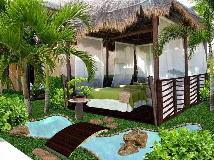 Jardines para espacios peque os buscar con google - Suelos para jardines pequenos ...
