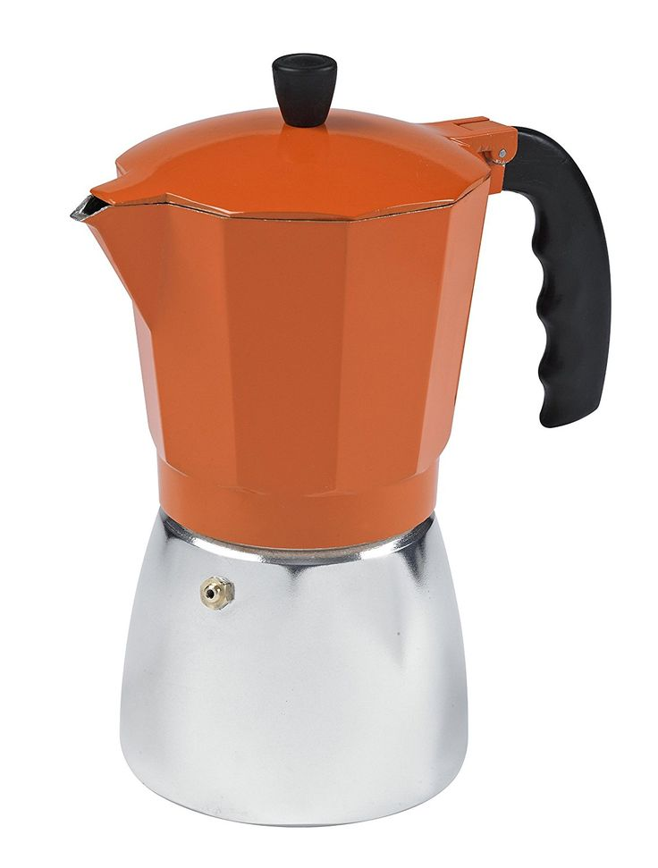 IMUSA, B120-43O, Aluminum Coffeemaker, 6-Cup, Orange *** Awesome product. Click the image ...