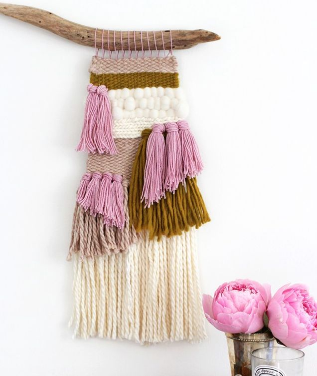Buy or DIY: Woven Wall Art | CASA & Company