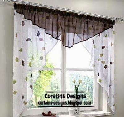 Las 25 mejores ideas sobre cortinas para cocina en pinterest for Disenos de cortinas para cocinas modernas