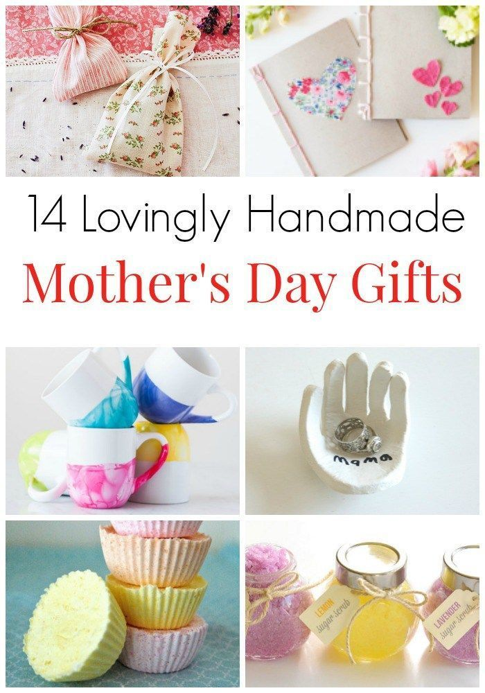 14 Lovingly Handmade Mothers Day Gifts