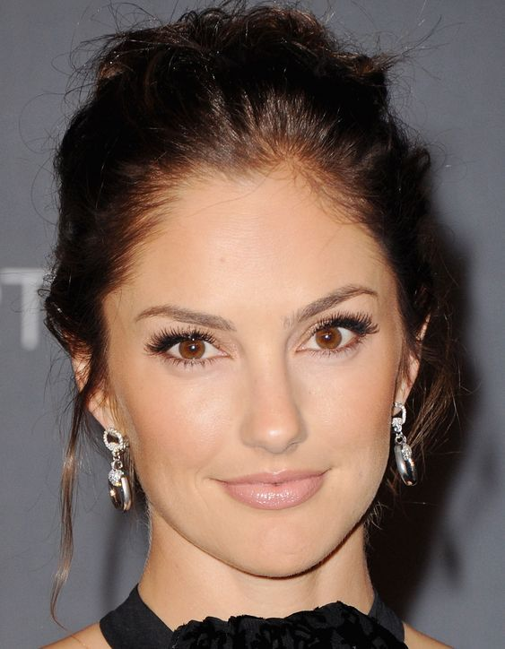 Look at Minka Kelly and See What a Difference the Shape of Your False Lashes Can Make!