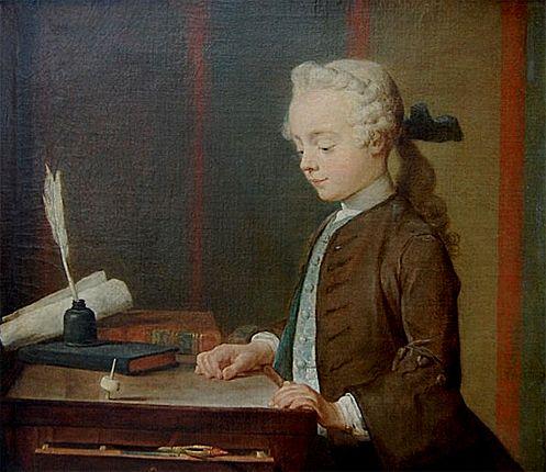 L'enfant au toton, 1738, Jean Siméon Chardin, Paris, Musée du Louvre