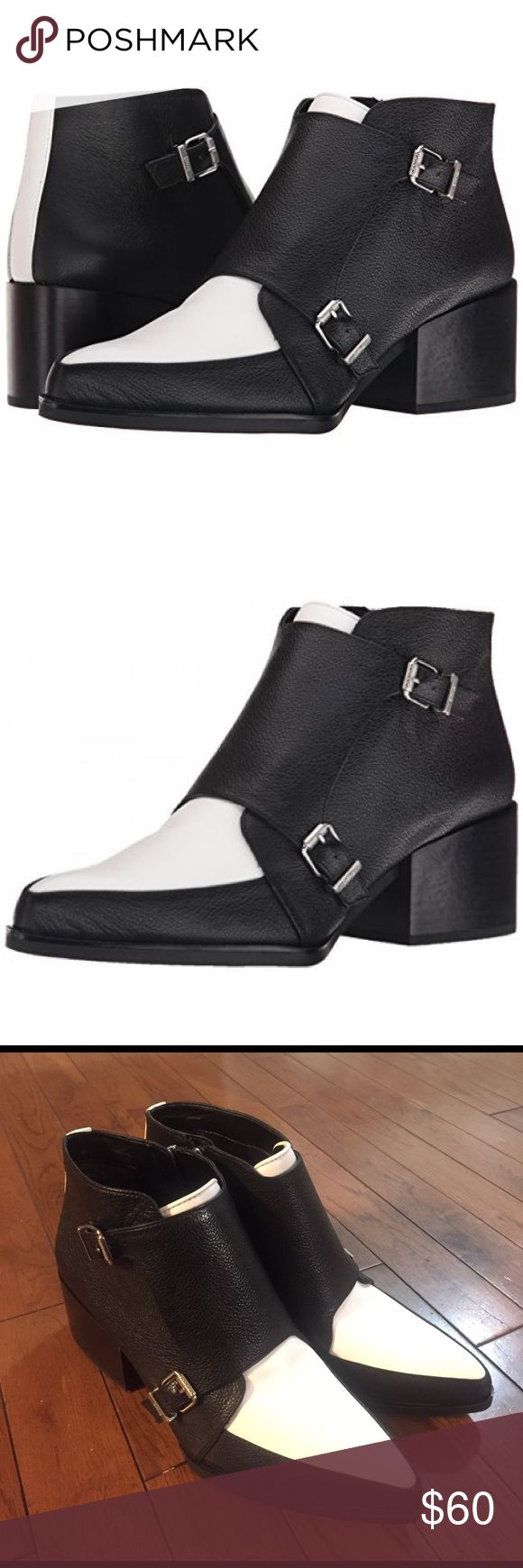 • SAM EDELMAN • booties NWOT Circus by Sam Edelman black and white booties. Size 7. Perfect condition- as seen in photos! Remember to bundle & save 15%! 💕 Open to reasonable offers! Circus by Sam Edelman Shoes Ankle Boots & Booties