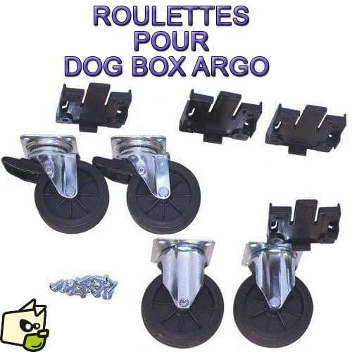 Kit VELOX 4 roues pour cage DOGBOX ARGO