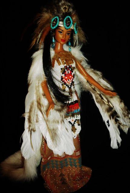 native american barbie dolls | Native American Wind Goddess OOAK Barbie doll by dakotassong