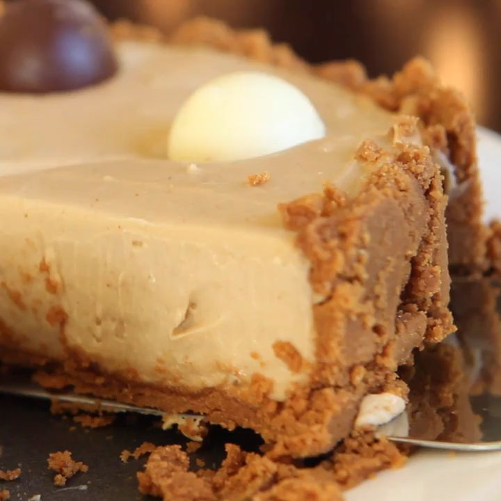 Cookie Butter Cheesecake   – Backen