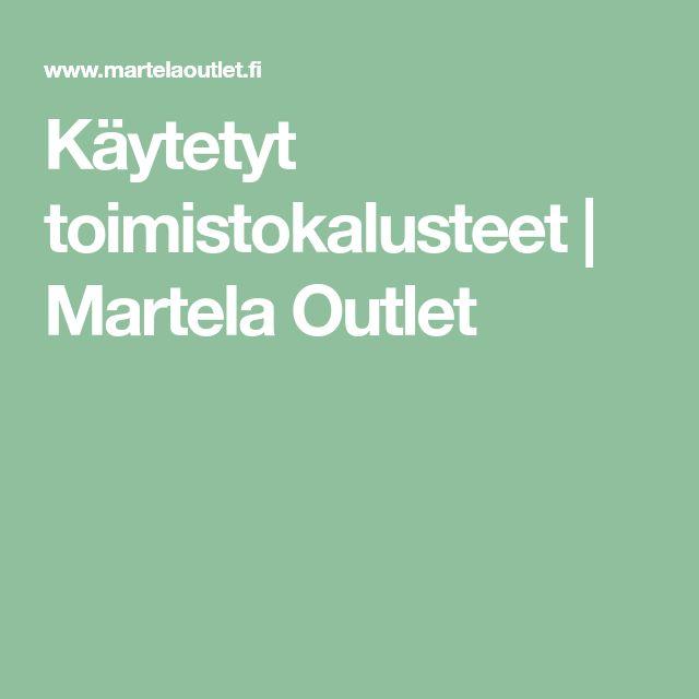 Käytetyt toimistokalusteet | Martela Outlet