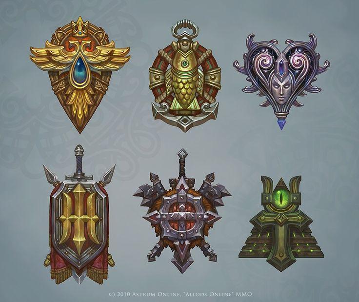Races heraldics by Hellstern.deviantart.com on @deviantART allods
