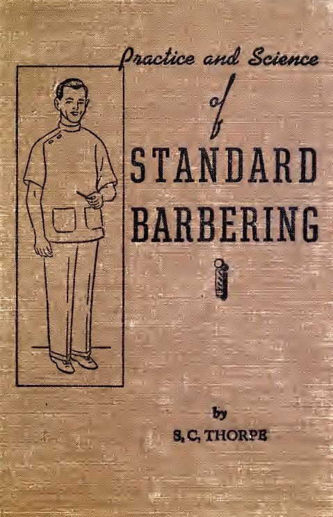 BARBER BOOK 'Practice and Science of by BuriedTreasureChest