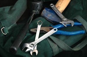 Use and age depreciate the value of tools.