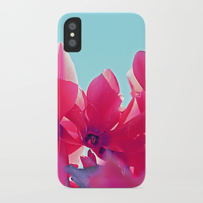 Buy Cyclamen blossom iPhone Case by maryberg. Worldwide shipping available at Society6.com. Just one of millions of high quality products available.