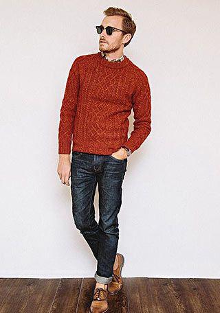 セーターの着こなし・コーディネート | メンズ Italy Web