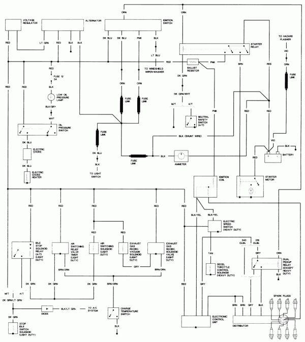 16 1986 Dodge Truck Wiring Diagram Truck Diagram Wiringg Net Dodge Truck Dodge Electrical Diagram