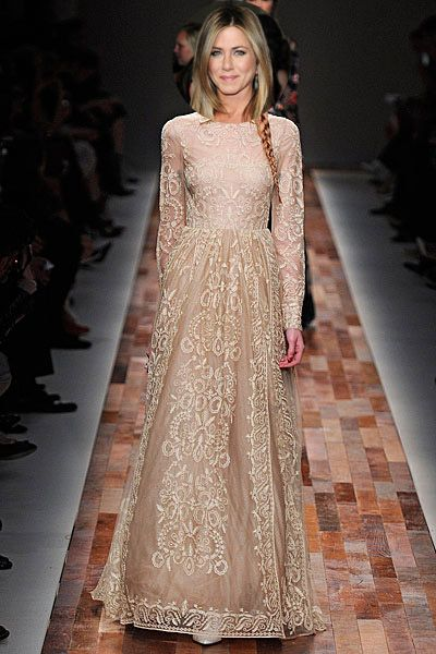 Has Jennifer Aniston Been Working On A Wedding Dress With Valentino?