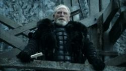 Jeor Mormont, nicknamed The Old Bear, is the Lord Commander of the Night's Watch, leading from his headquarters at the fortress of Castle Black. Jeor Mormont was once the Lord of Bear Island and head of House Mormont until he abdicated his seat in favor of his son, Ser Jorah Mormont, and joined the Night's Watch