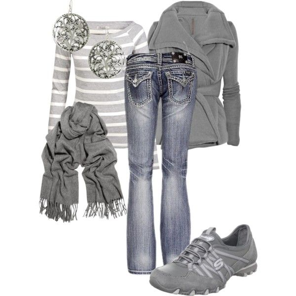 """Grey day -MandyS120"" by mandys120 on Polyvore"