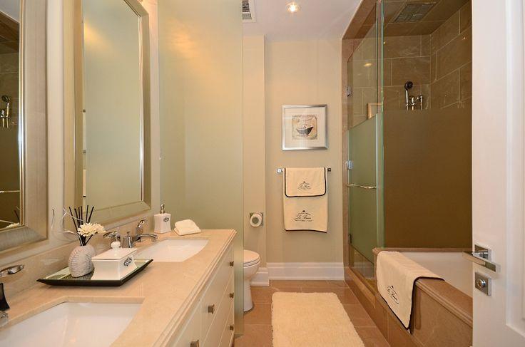 Four Seasons Hotel & Private Residences Yorkville Toronto Luxury Condos 55 Scollard St Suite 1902 Master Ensuite Bath Victoria Boscariol Chestnut Park Real Estate