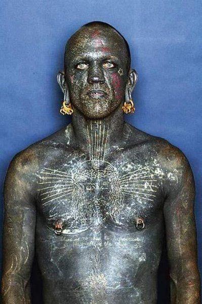 Lucky Diamond Rich - my favourite tattooed crazy person