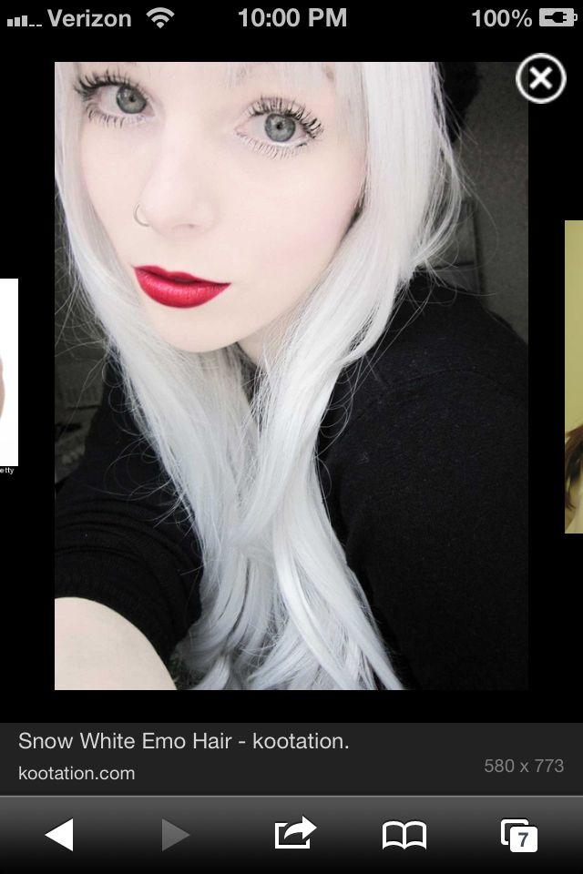 White Hair Hair Pinterest White Hair