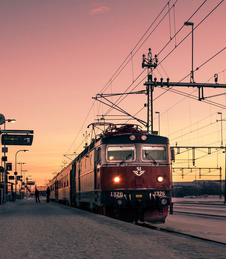 Sunset in Kiruna by Kire Hajba on 500px