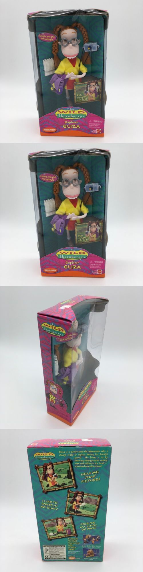 Rugrats 2628: The Wild Thornberrys, Explorer Eliza, 1999 Mattel Nickelodeon New Sealed -> BUY IT NOW ONLY: $37.95 on eBay!