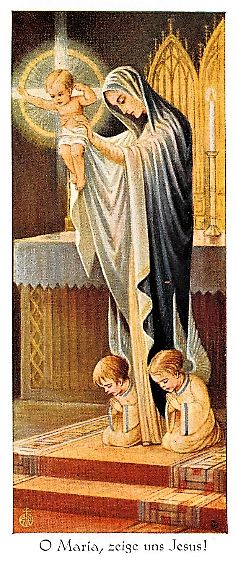 Vierge Marie: Today August 15th is a holy day of obligation!