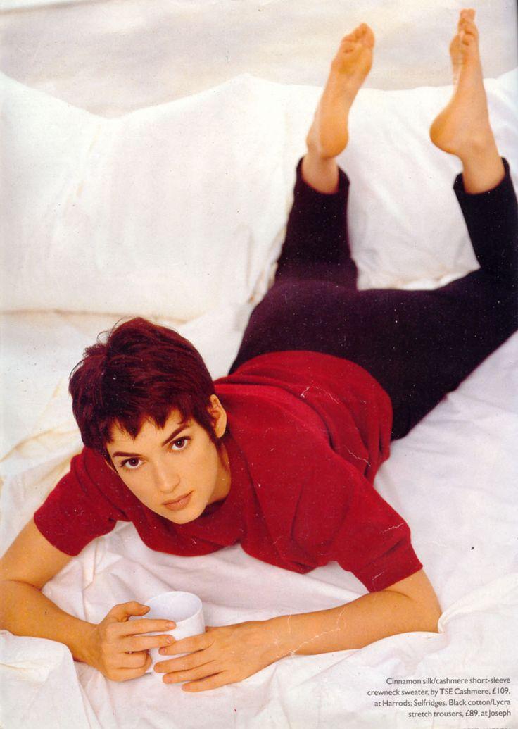 Winona Ryder's Feet