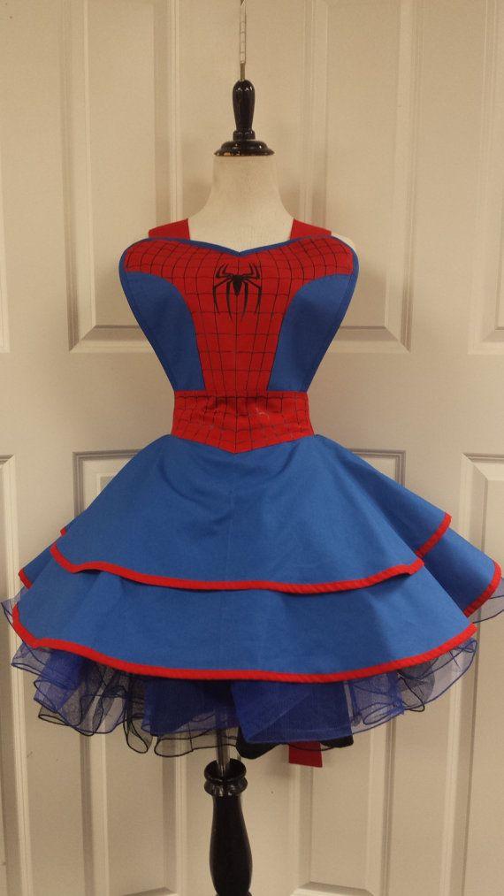 Spider Themed Superhero Cosplay Retro Pin by PandorasProductions