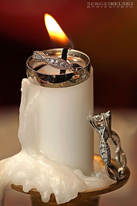 Beautiful ring shot - ideal for a medieval feast with the candle tapers. (Photo credit: Sergei Belski)