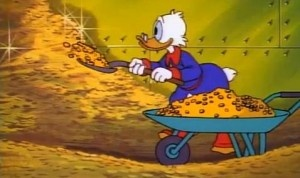 How Much Money You Need To Realistically Recreate The Scrooge McDuck 'Gold Coin Swim'?