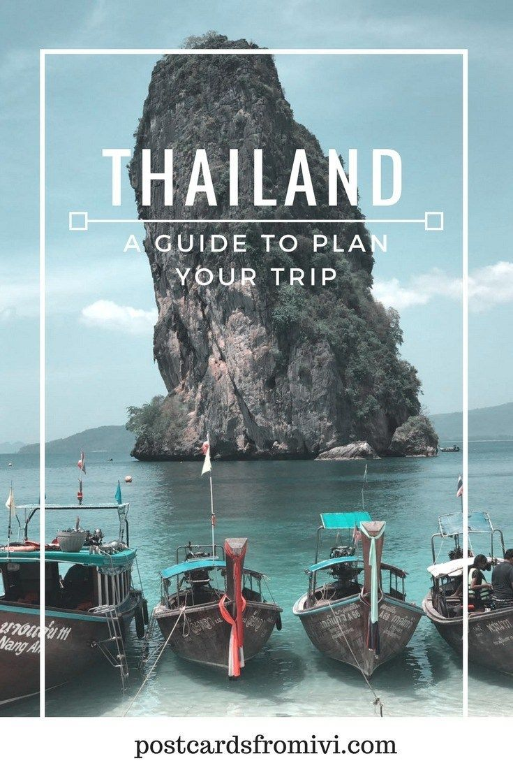 Plan a trip to Thailand - Useful info & Tips | Move It & Travel Tips