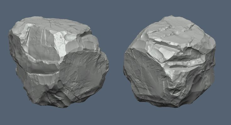 Rock Sculpting, Justin Owens on ArtStation at https://www.artstation.com/artwork/Pemq8