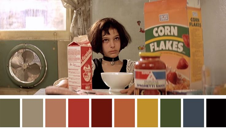 As paletas de cores do cinema
