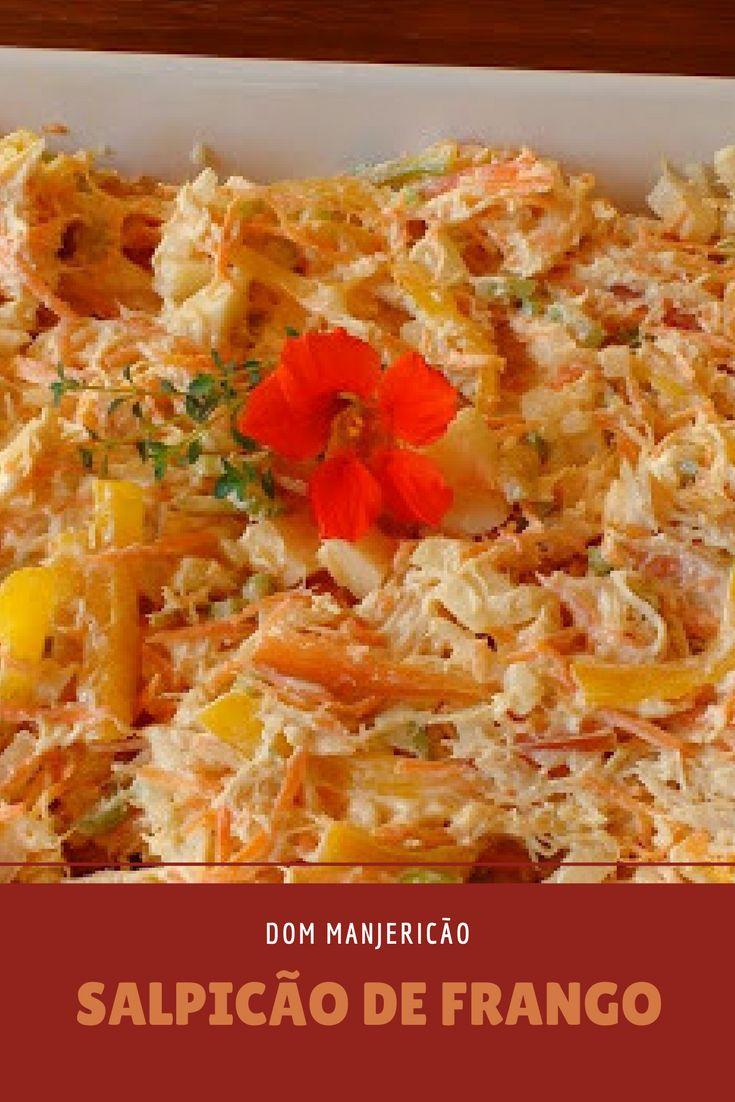 Salpicão de frango, receita tão boa que já apresentei na tv!