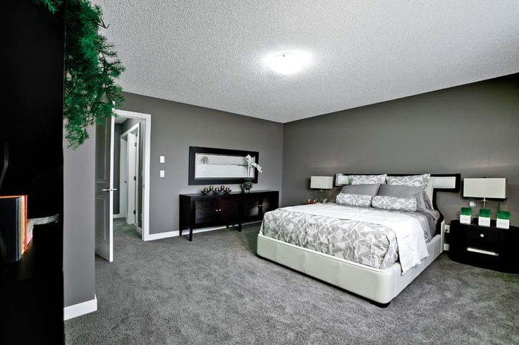 Owner's bedroom in Leera in Sherwood in NW Calgary, Alberta, by Shane Homes