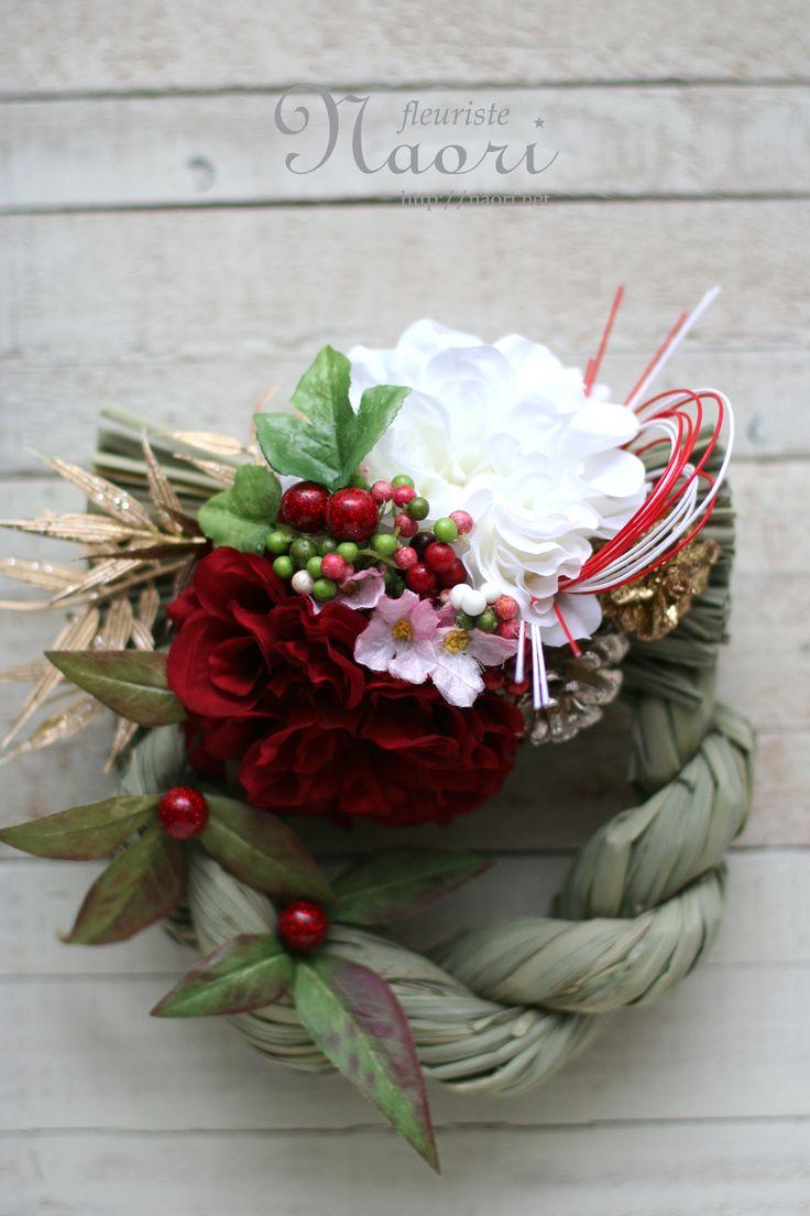 Japanese New Year wreath 2014 beautiful
