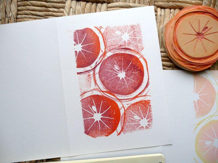 2015/52 tampons/ semaine 7 : oranges maltaises